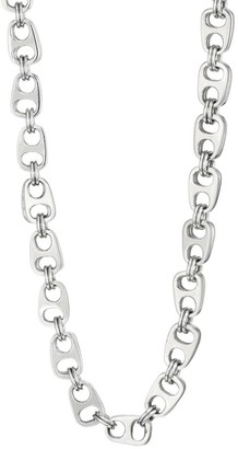 King Baby Studio Pop Top Sterling Silver Double Layer Necklace