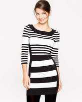 Le Château Stripe Viscose Blend Sweater