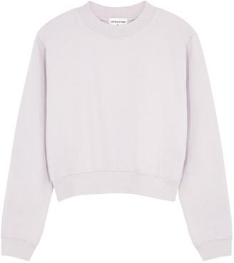Cotton Citizen Milan Light Grey Cotton Sweatshirt