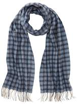 Tommy Bahama Cashmere Checkered Print Wrap Scarf