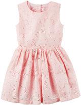 Carter's Floral Eyelet Dress