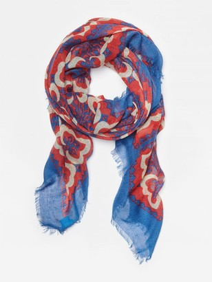 J.Mclaughlin Giselle Scarf in Pinwheel Patch