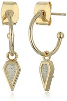 Tai Mini Charm Hoop Earrings