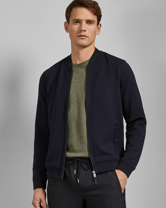 Ted Baker LIVID Bomber jacket with woven panels