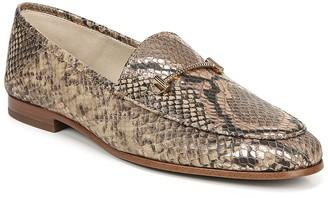 Sam Edelman Lior Snakeskin Printed Loafer