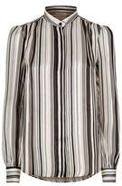 Giambattista Valli Striped Silk Shirt