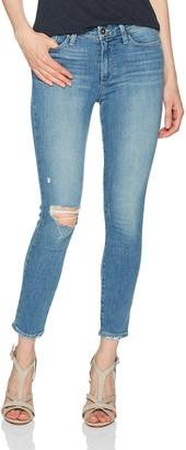 Paige Women's Hoxton Crop Rollup Jeans