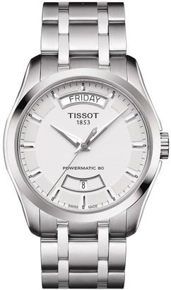 Tissot Men's Couturier Bracelet Watch, 32mm