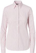 Ralph Lauren Petite Slim Striped Cotton Shirt