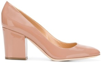 Sergio Rossi Block Heel Pumps