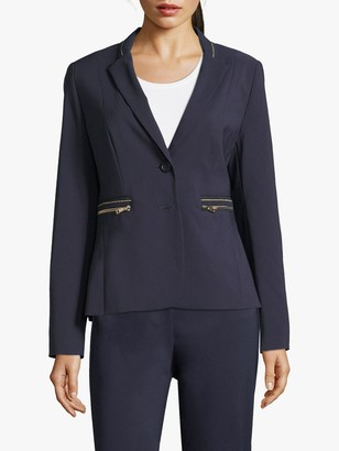 Betty Barclay Zip Pocket Blazer, Dark Sky