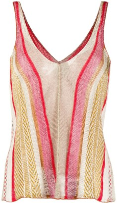 Forte Forte Striped Knitted Top