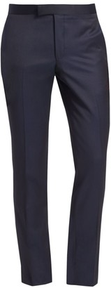 Saks Fifth Avenue MODERN Tuxedo Wool Trousers