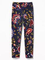Old Navy Printed Stevie Ponte-Knit Leggings for Girls