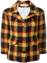 Marni checked knit jacket