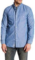 Timberland Chambray Long Sleeve Regular Fit Shirt