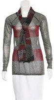 Isabel Marant Metallic Striped Sweater
