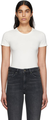 Rag & Bone White The Tee Bodysuit