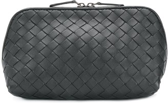 Bottega Veneta Pre Owned Intrecciato Woven Vanity Case