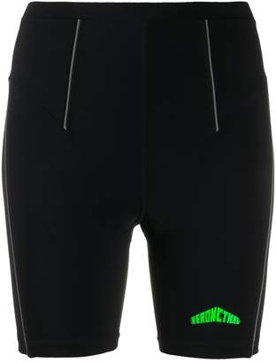 Heron Preston Active logo biker shorts