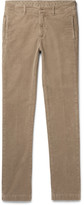Massimo Alba - Winch Slim-fit Textured Stretch-cotton Trousers