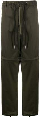 Diesel straight leg cargo trousers