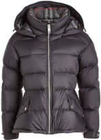 Burberry Quilted Down Jacket with Hood