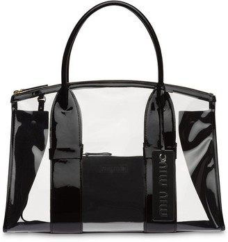 Miu Miu Transparent Tote Bag