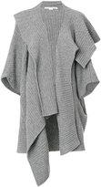 Stella McCartney asymmetric cardigan - women - Virgin Wool - S