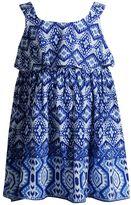 Youngland Baby Girl Print Popover Dress