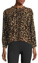 Velvet Moselle Leopard-Print Sweatshirt