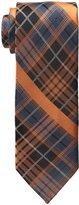 Haggar Men's Heritage Panel Plaid Tie