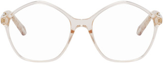 Chloé Pink Modified Circular Glasses