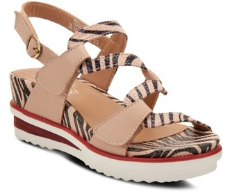 L'artiste By Spring Step Tenacity Wedge Sandal