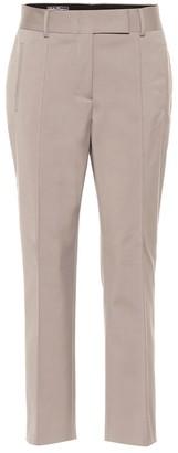 Salvatore Ferragamo Stretch cotton-blend pants