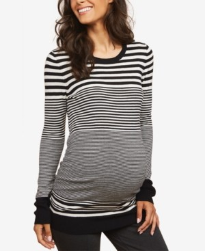 Motherhood Maternity Ruched Sweater