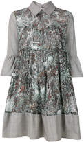 I'M Isola Marras printed bell sleeve shirt dress