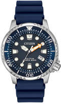 Citizen Men's Eco-Drive Promaster Diver Blue Strap Watch 42mm BN0151-09L
