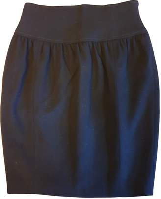Escada Black Wool Skirt for Women