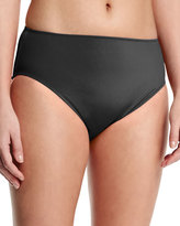 Gottex High-Waist Bikini Swim Bottom, Plus Size