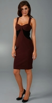 Colorblock Trapunto Sheath Dress