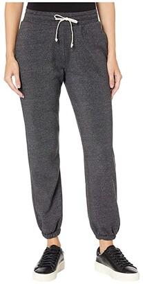 Alternative Classic Eco-Fleece Jogger Pants (Eco Black) Women's Casual Pants