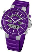 Jacques Lemans Men's 1-1712K Milano Sport Analog with Analog-Digital Display Watch