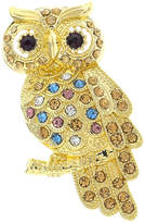 JCPenney MONET JEWELRY Monet Multicolor Stone Owl Pin