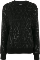 Versus Zayn X printed sweatshirt - women - Cotton - XS