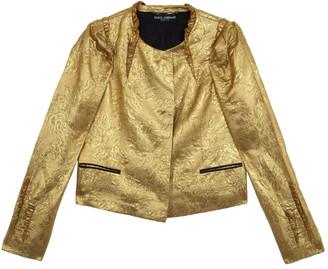 Dolce & Gabbana Silk Brocade Evening Jacket S