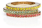 Kate Spade Out of office fruit ring set