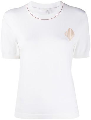 Chloé logo detail T-shirt