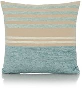 George Home Chenille Stripe Cushion - 40x40cm