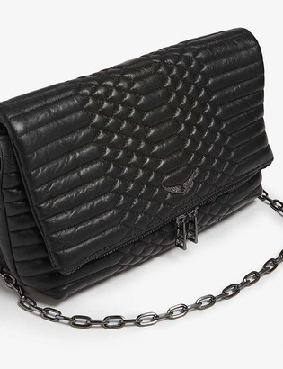 Zadig & Voltaire Rocky quilted leather cross-body bag